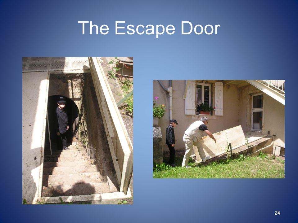 The Escape Door 24