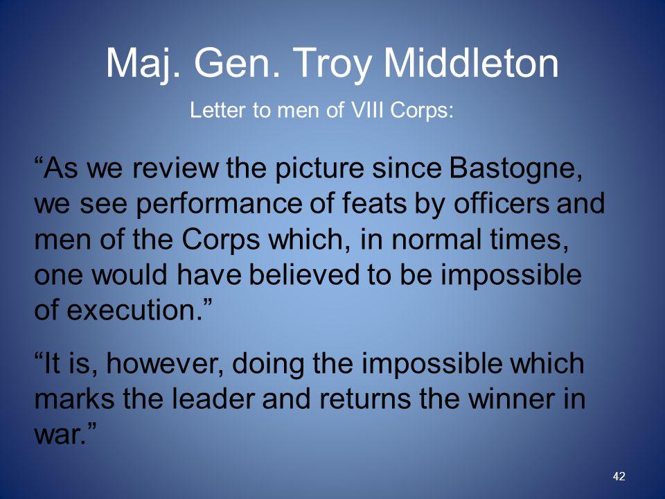 Maj. Gen.