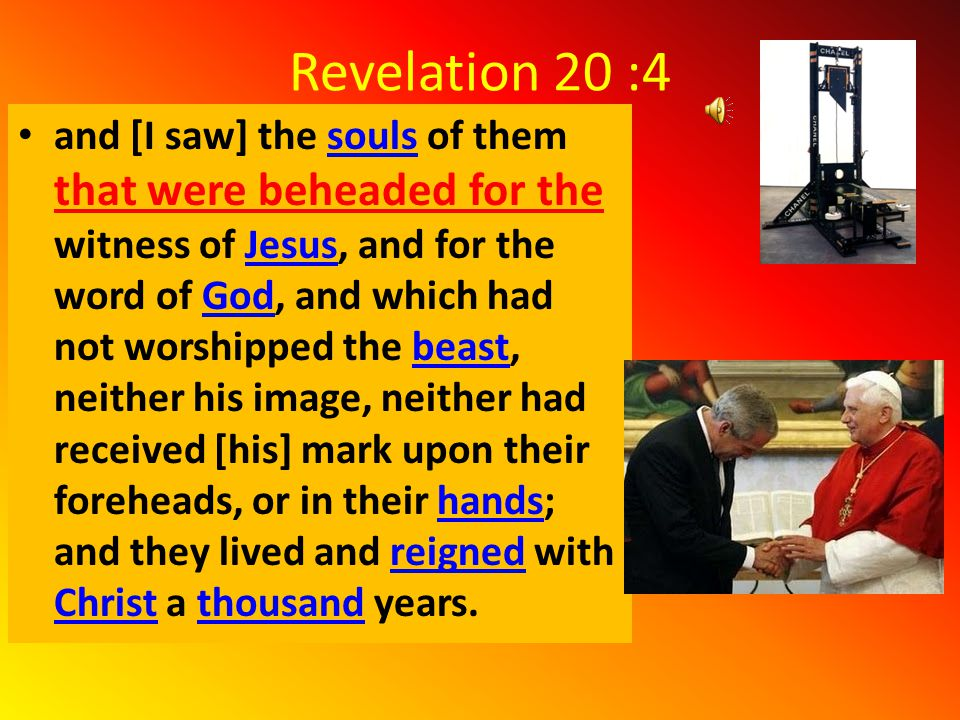 Revelation 6:9-11 11 And white robes were given unto every one of them; and it was said unto them, that they should rest yet for a little season, until their fellowservants also and their brethren, that should be killed as they were, should be fulfilled..