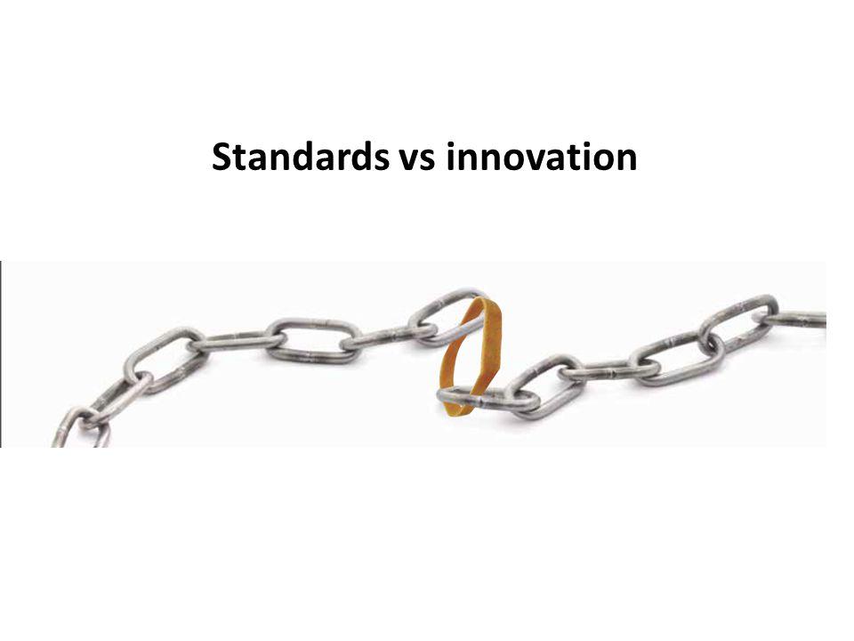 Standards vs innovation