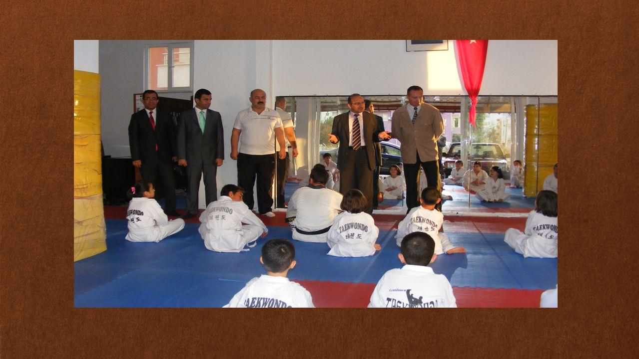 TAEKWONDO: Halk Eğitimi Merkezimizce Tekvando Kursumuz açılmış Türkiye ve Avrupa Şampiyonalarına katılmaları için sporcular yetiştirilmektedir.