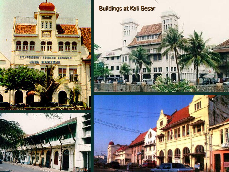Buildings at Kali Besar