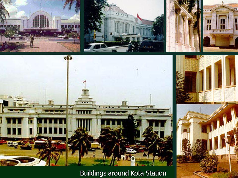 Buildings around Kota Station