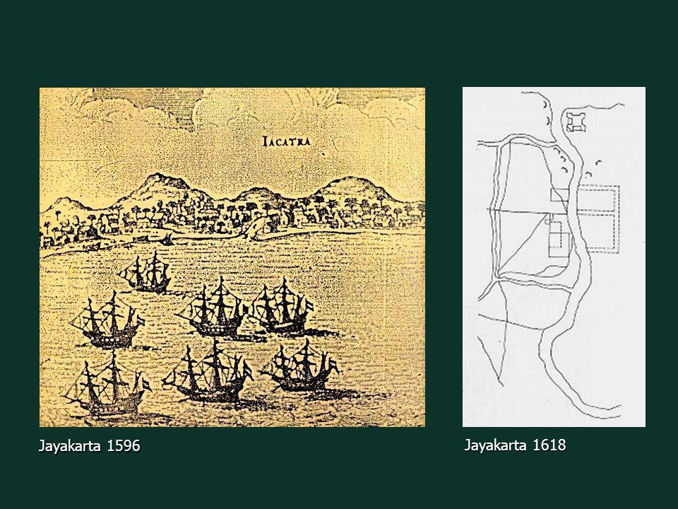 Batavia 1628/1629 Batavia 1619 Development of Batavia Development of Batavia from Jayakarta to Batavia