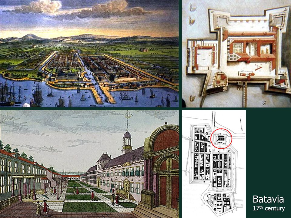 Batavia 17 th century
