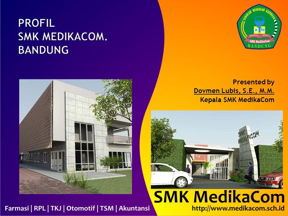 Presented by Dovmen Lubis, S.E., M.M. Kepala SMK MedikaCom