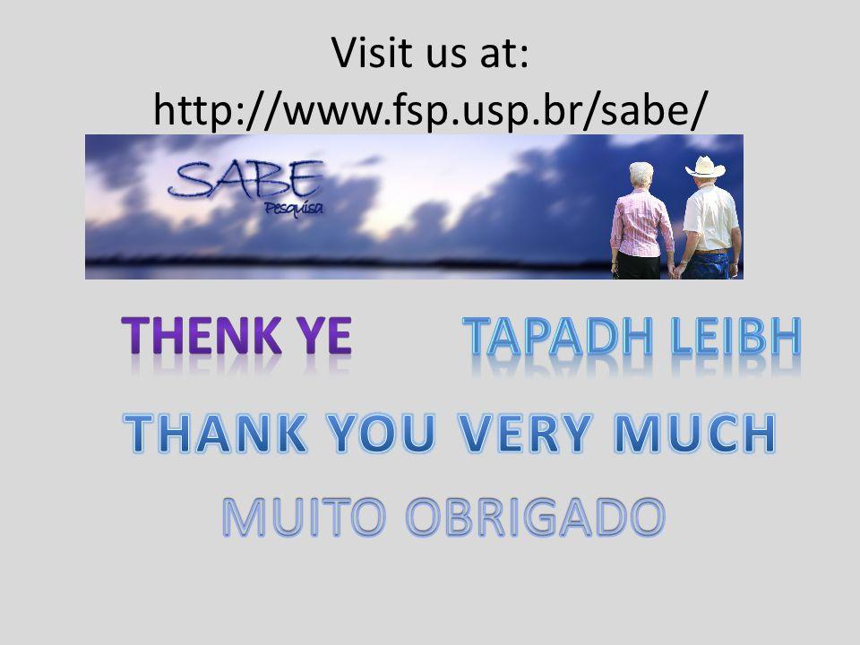 Visit us at: http://www.fsp.usp.br/sabe/