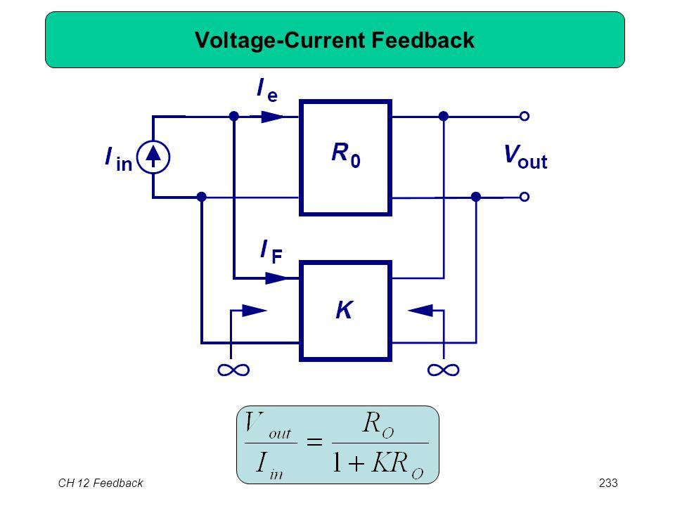 CH 12 Feedback233 Voltage-Current Feedback
