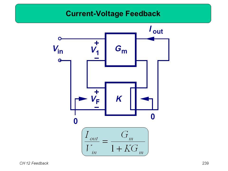 CH 12 Feedback239 Current-Voltage Feedback