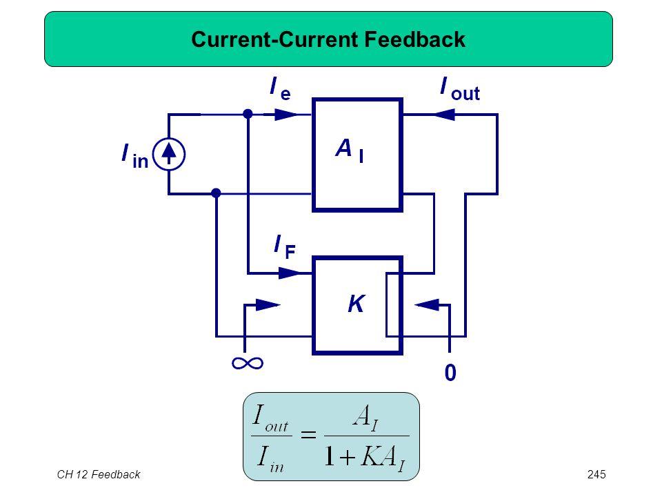 CH 12 Feedback245 Current-Current Feedback