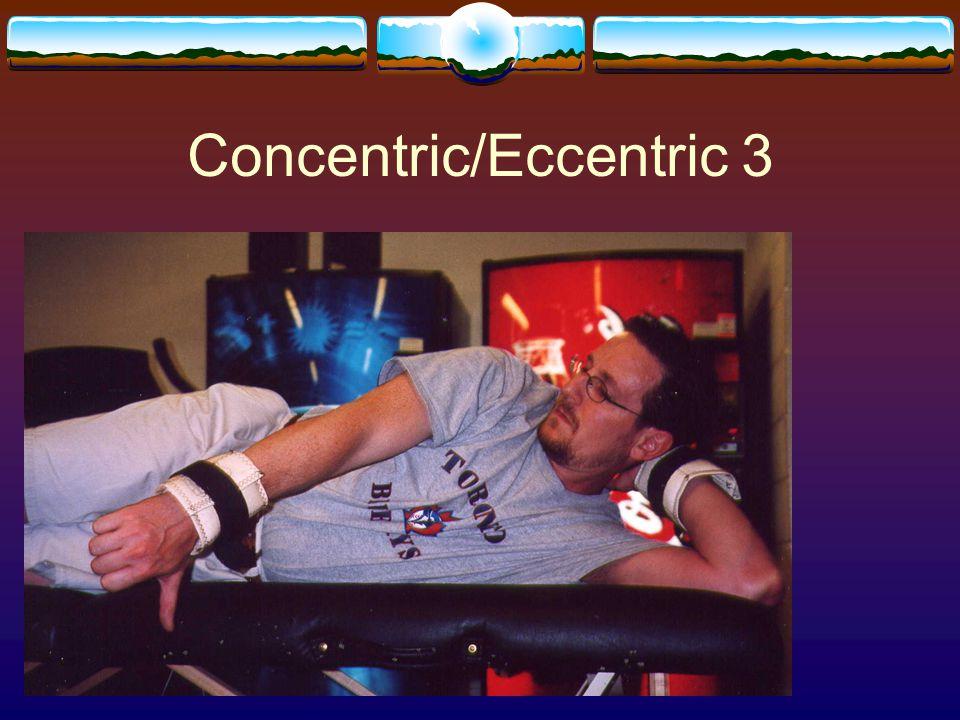 Concentric/Eccentric 3