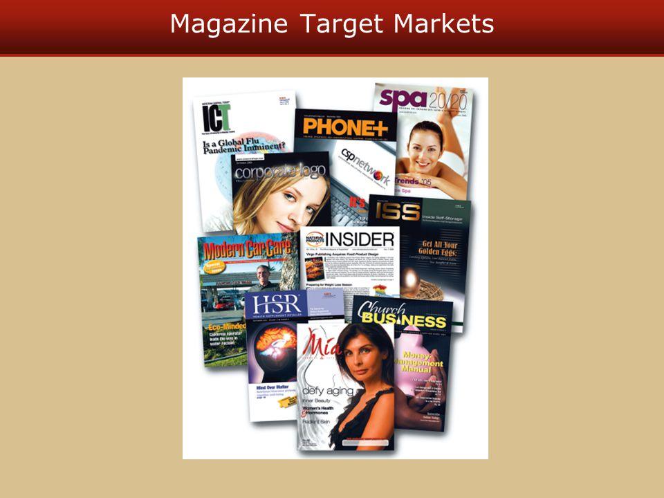 Magazine Target Markets