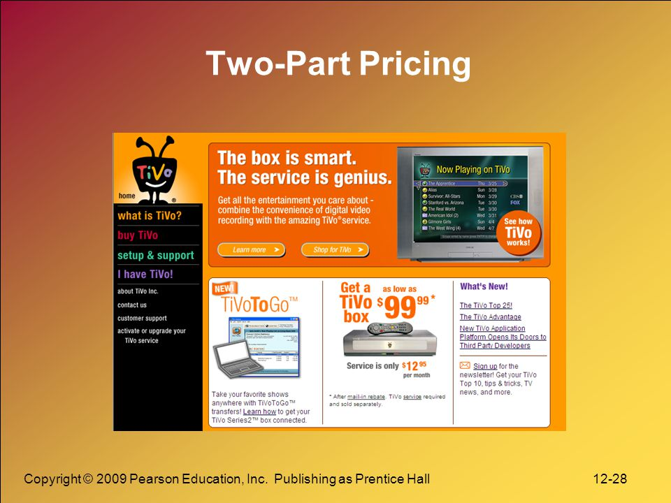 Copyright © 2009 Pearson Education, Inc. Publishing as Prentice Hall 12-29 Co-branding