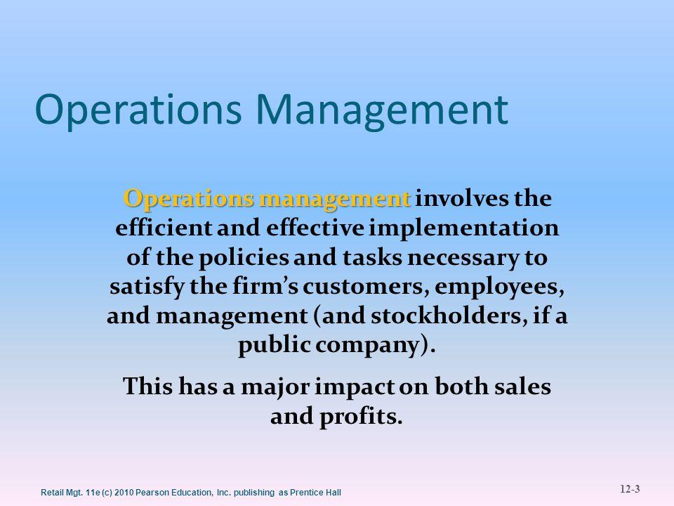 12-14 Retail Mgt.11e (c) 2010 Pearson Education, Inc.