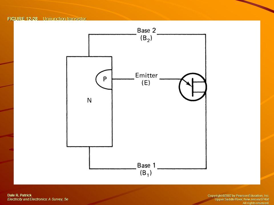 FIGURE 12-28 Unijunction transistor.Dale R.