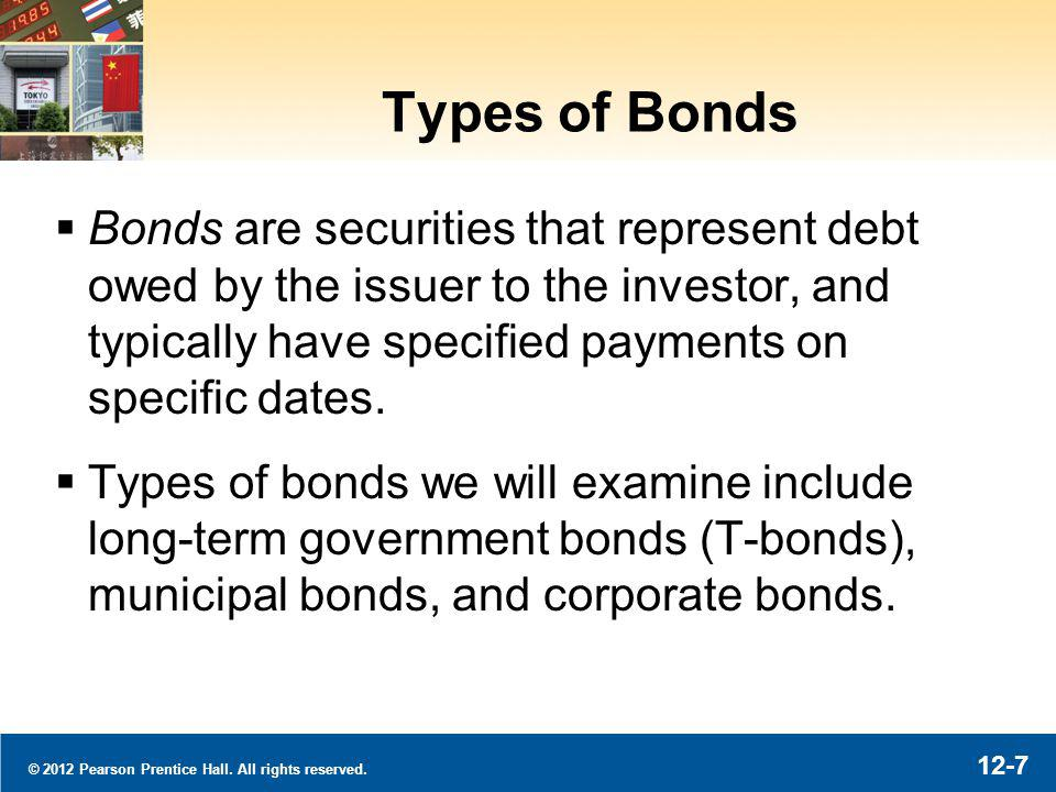 © 2012 Pearson Prentice Hall. All rights reserved. 12-8 Types of Bonds: Sample Corporate Bond
