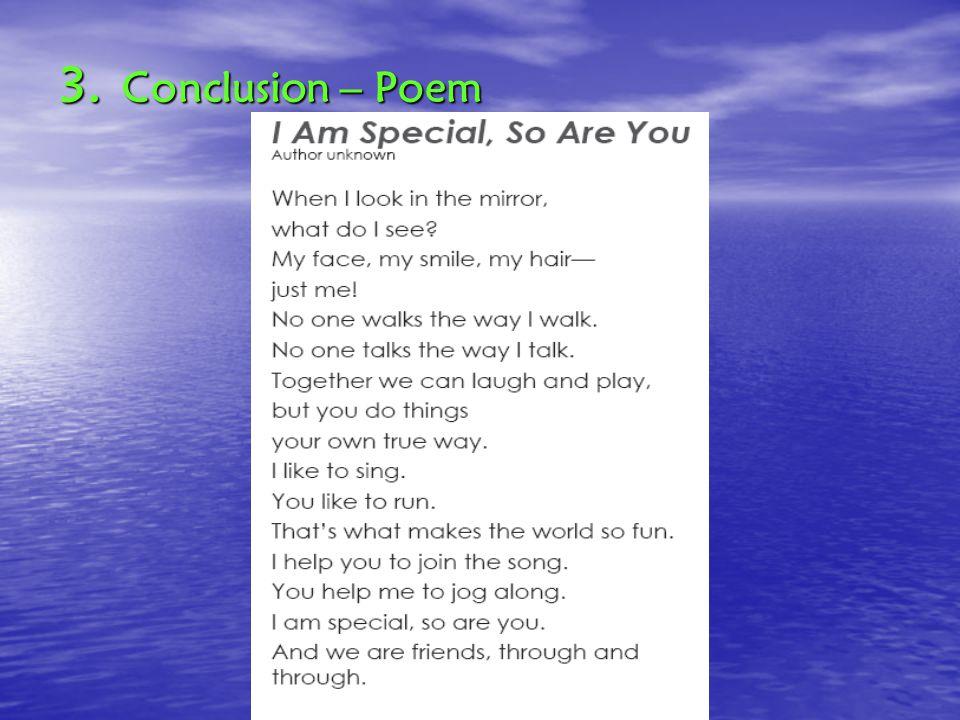 3. Conclusion – Poem