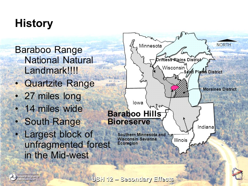 USH 12 – Secondary Effects History Baraboo Range National Natural Landmark!!!.