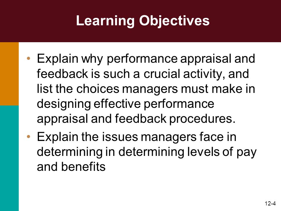 12-45 Training and Development Figure 12.4