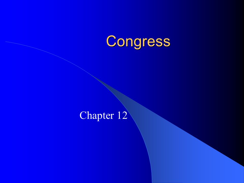 How Congress is Organized to Make Policy The Committees and Subcommittees – Four types of committees: Standing committees: subject matter committees handle different policy areas.
