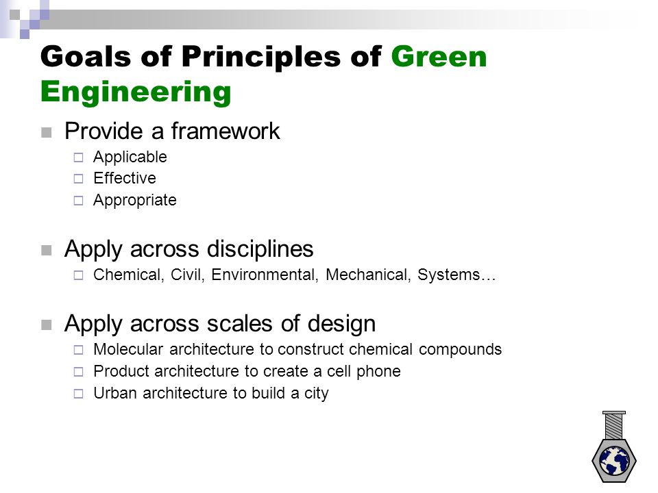 Principle 11 Performance metrics include designing for performance in commercial after-life .