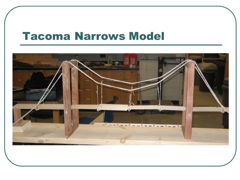 Tacoma Narrows Model