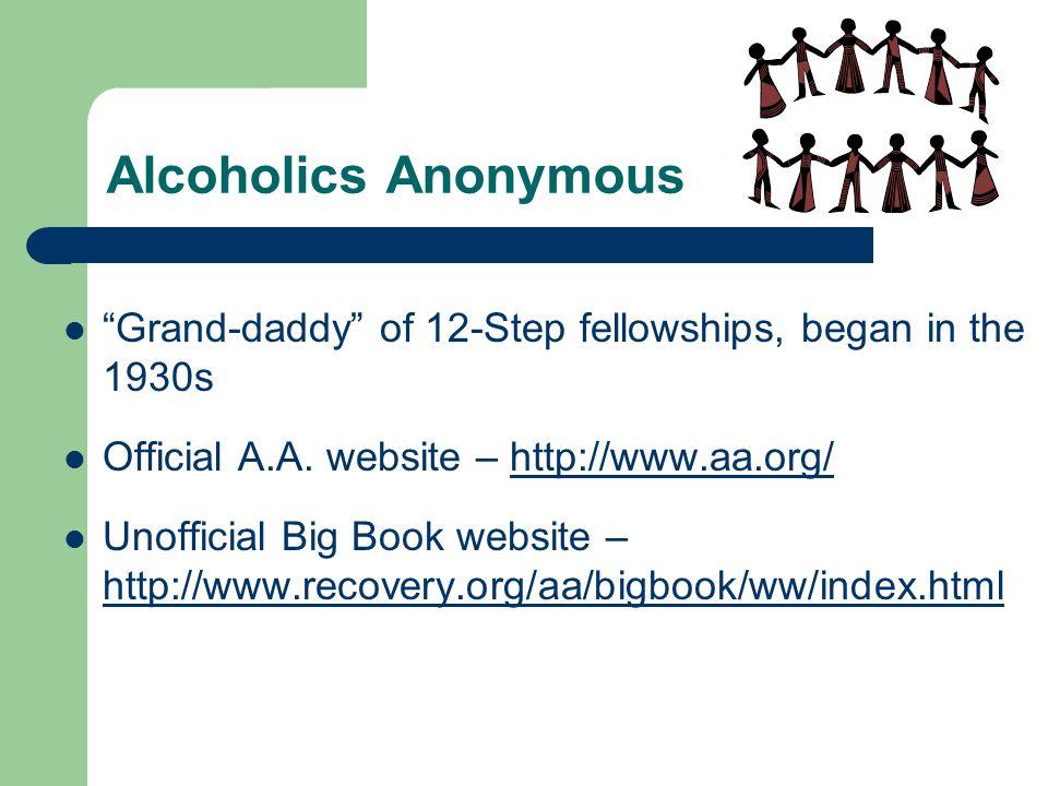 Schizophrenics Anonymous 1.I SURRENDER... I admit I need help.