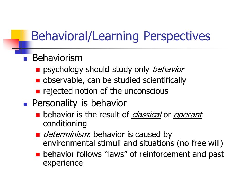 Cognitive/Social Learning Theory Cognitive model people think, problem-solve, reason, etc.