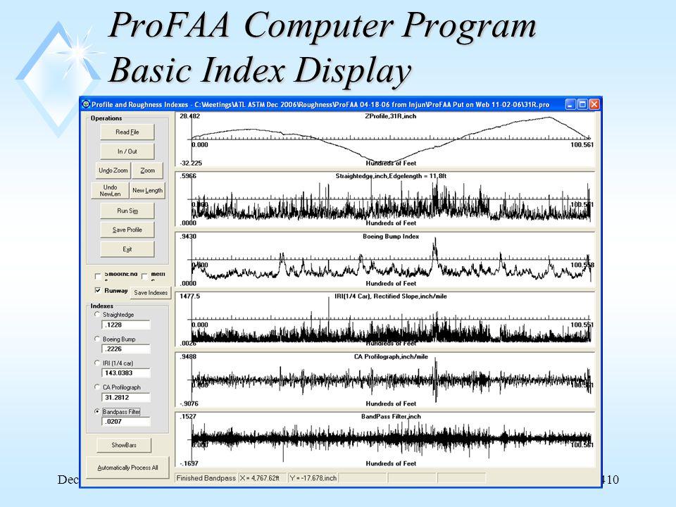 FAA AAR-410 December 5, 200625