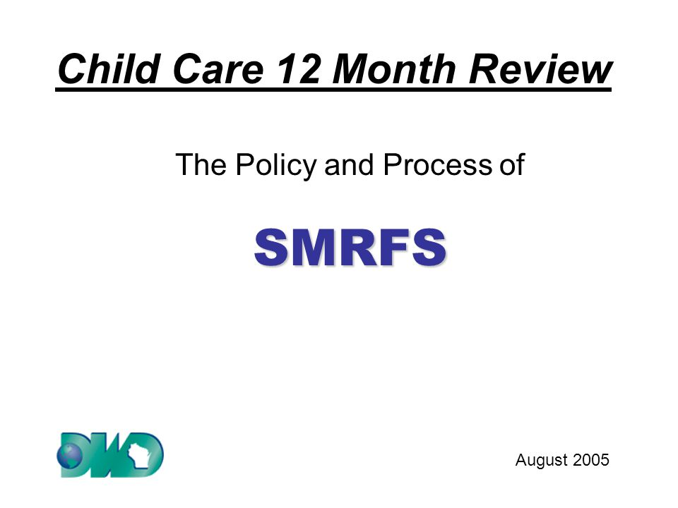 Definition of a SMRF: SMRF (noun): A Six Month Report Form used to confirm household circumstances and report household changes at the mid-point in a twelve month period of eligibility in place of a face to face review.