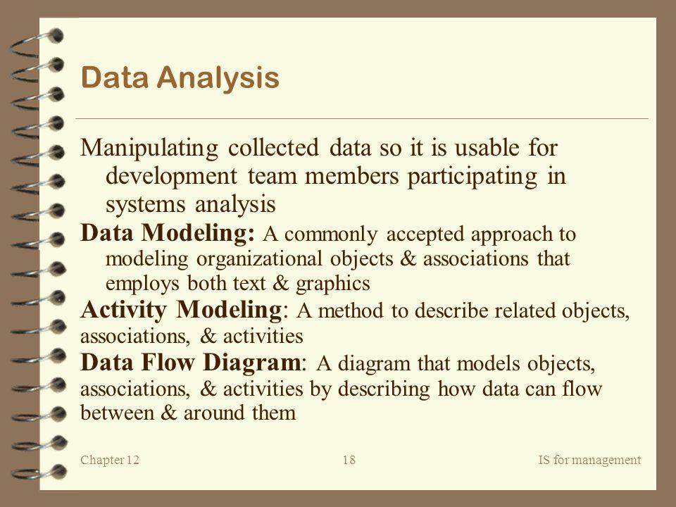 Chapter 12IS for management19 Diagrams Entity-Relationship Diagram (ERD) Data Flow Diagram (DFD)