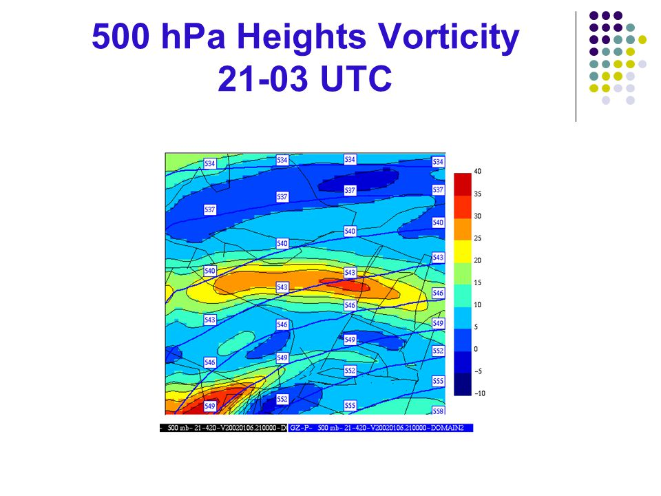 500 hPa Heights Vorticity 21-03 UTC