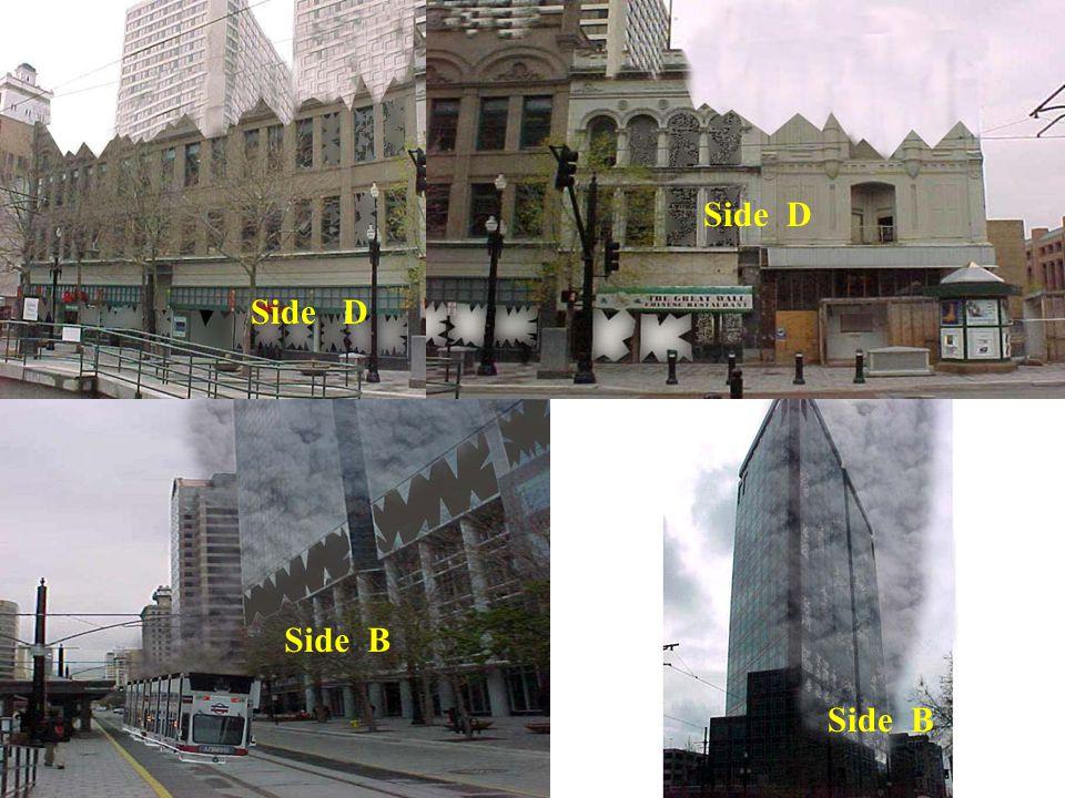 Side D Side B Side D