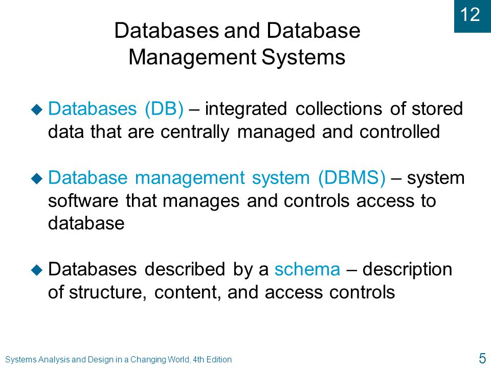 12 Systems Analysis and Design in a Changing World, 4th Edition 46 Single Database Server Architecture (Figure 12-27)