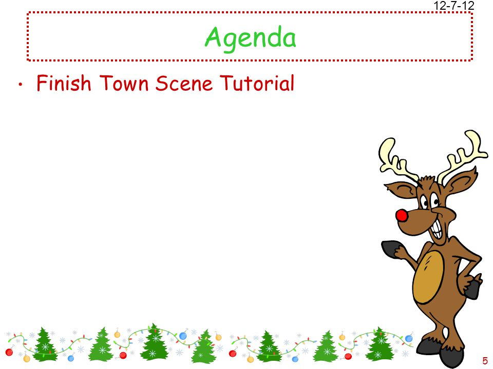 12/18/2014 Free template from www.brainybetty.com 5 Agenda Finish Town Scene Tutorial 12-7-12