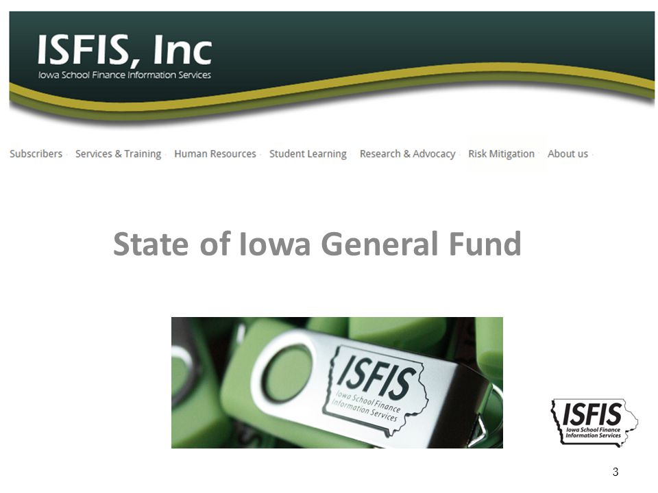 State of Iowa General Fund 3