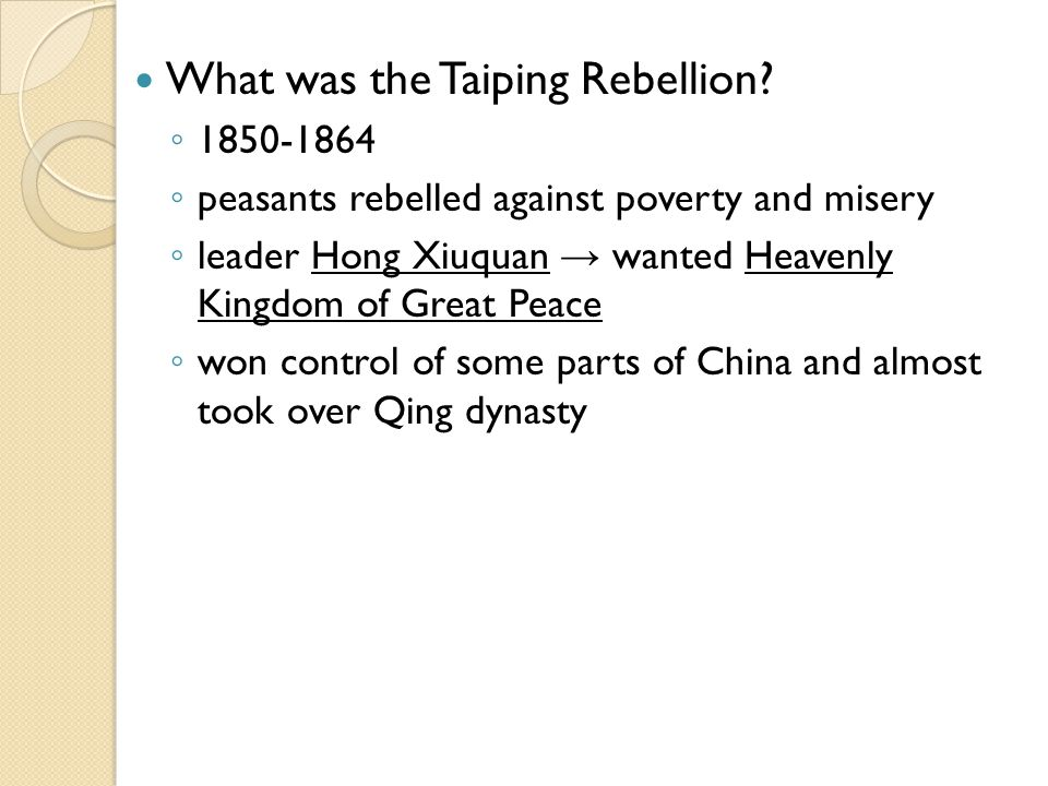 How did China begin to reform.