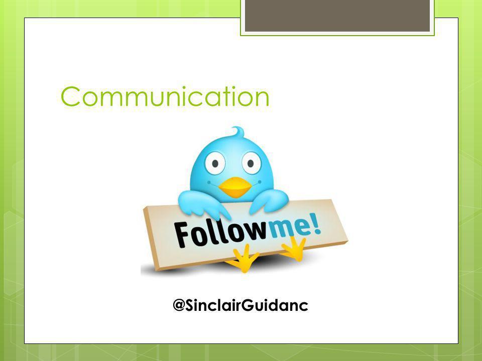 Communication @SinclairGuidanc