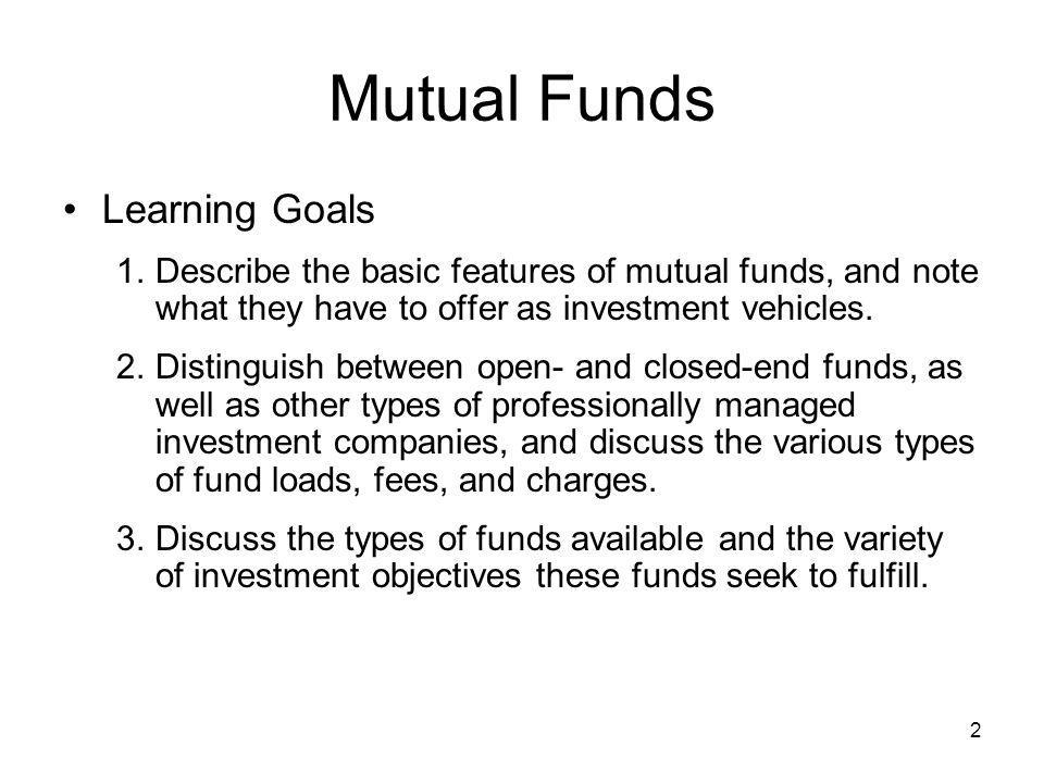 23 Types of Mutual Funds (cont'd) Equity-income Fund: emphasizes current income and capital preservation –Focus is on high current income with some long-term capital appreciation –Invest in high-yielding common stocks, convertible securities or preferred stocks –Invests in blue chip stocks and other high-grade securities –Typically less price volatility than overall stock market –Less risky investments for relatively conservative investors looking for moderate growth