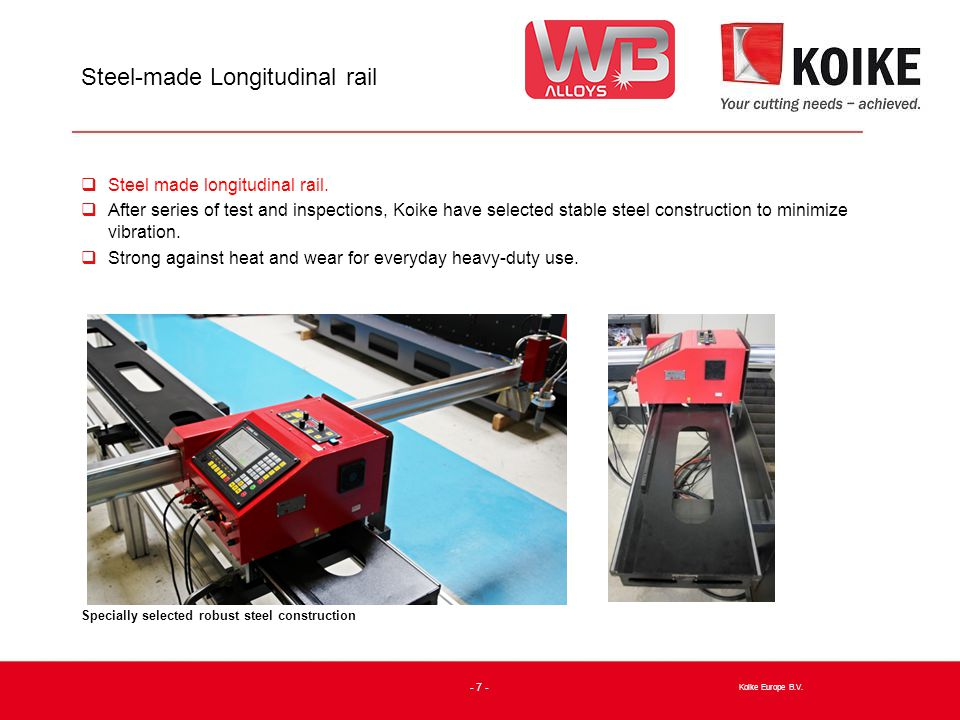 PNC-12 Extreme Type-1015 Oxy-Fuel  Type-1015 Oxy-fuel (Effective cutting width 1000mm, length 1500mm) Koike Europe B.V.
