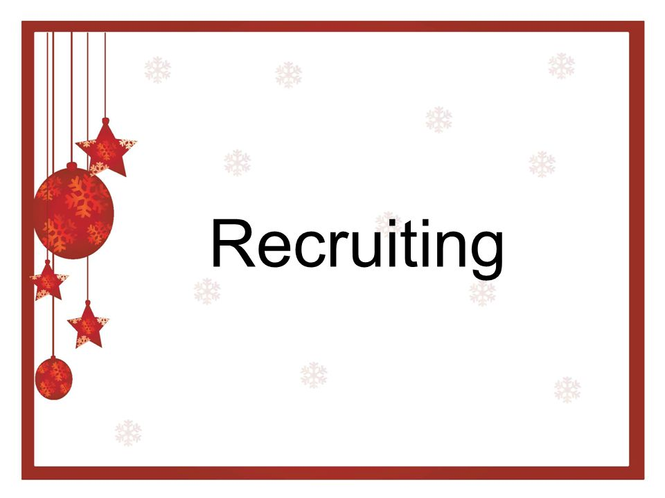 What is Recruiting.
