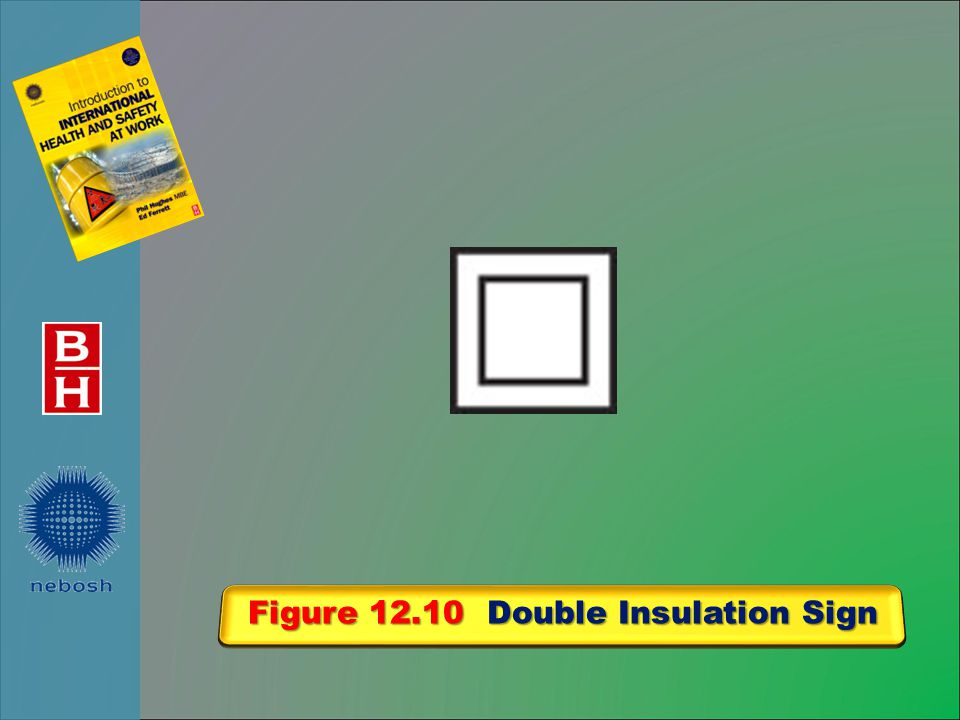 Figure 12.10 Double Insulation Sign