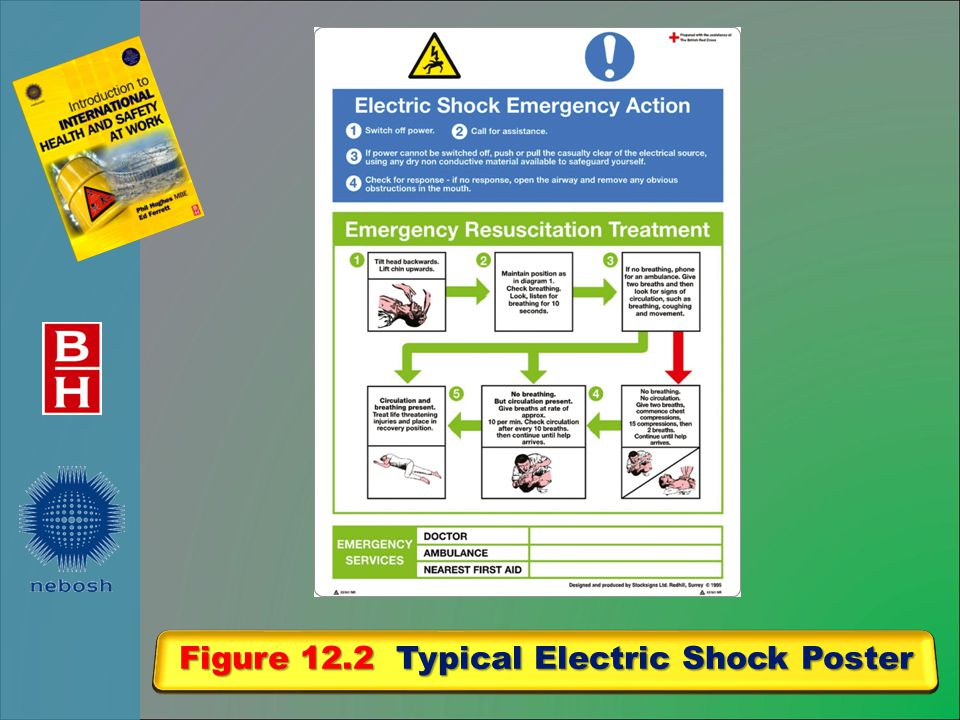 Figure 12.2 Typical Electric Shock Poster