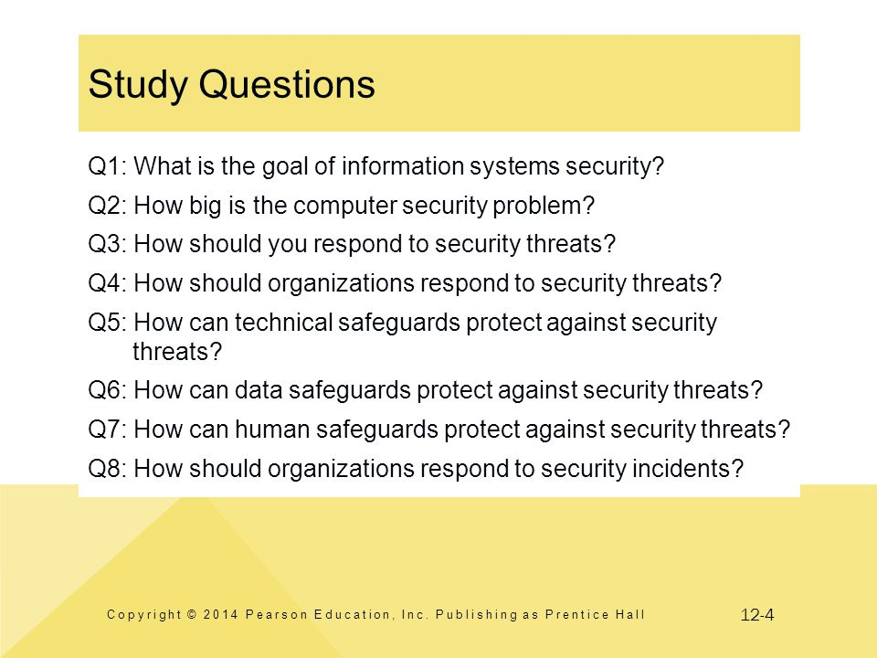12-35 Guide: Metasecurity What are the security problems.