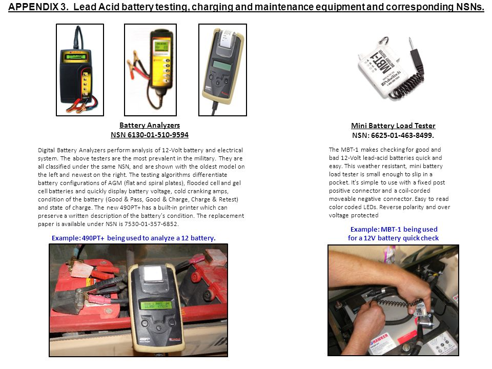 Digital Battery Analyzers perform analysis of 12-Volt battery and electrical system.