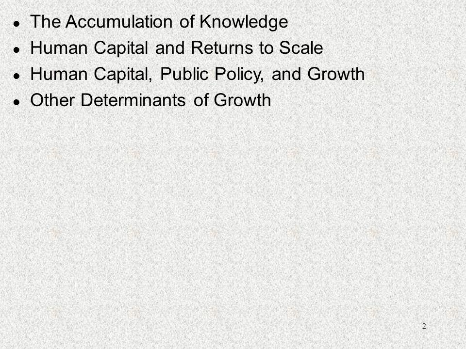 13 Villanueva (1994): l l Productivity, A=  (K/L) +  A.