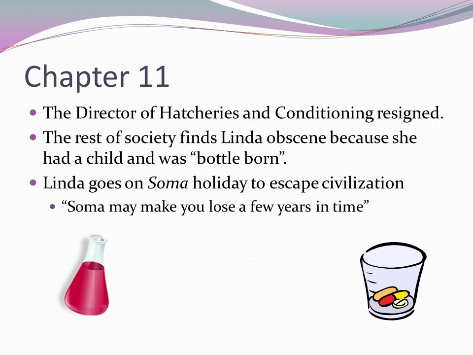 Chapter 11 The Director of Hatcheries and Conditioning resigned.