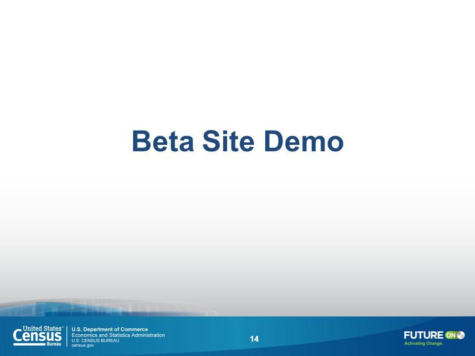 Beta Site Demo 14