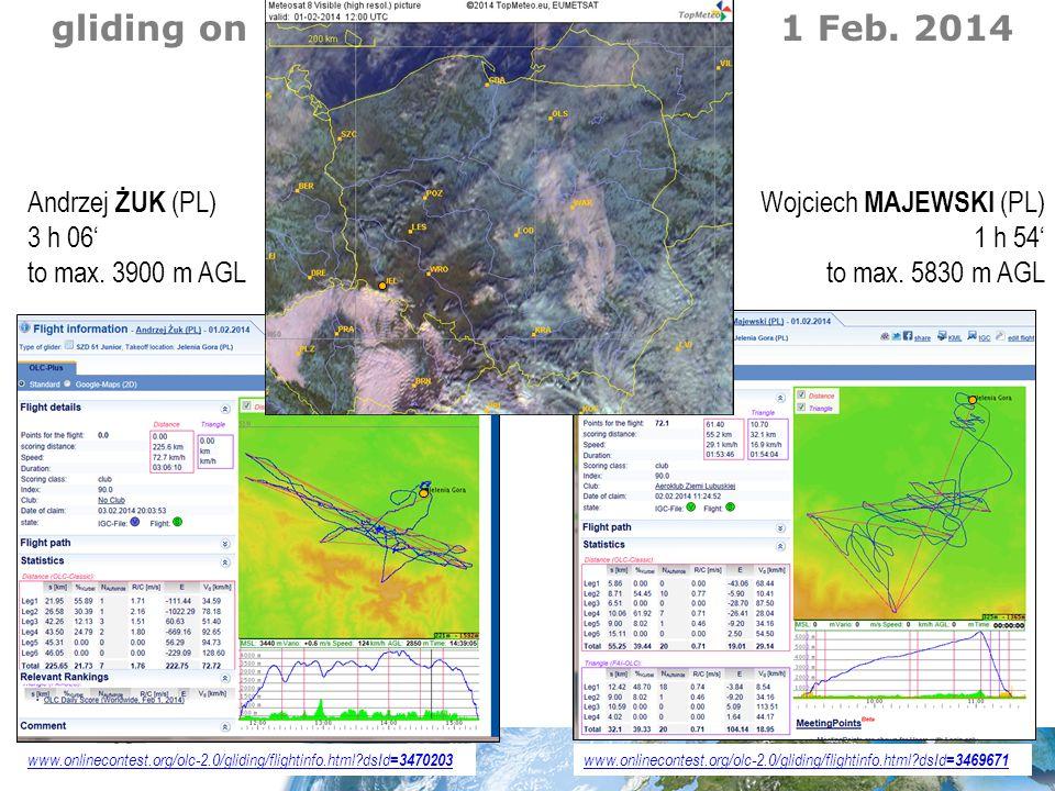www.onlinecontest.org/olc-2.0/gliding/flightinfo.html?dsId =3469671 www.onlinecontest.org/olc-2.0/gliding/flightinfo.html?dsId =3470203 gliding on 1 Feb.