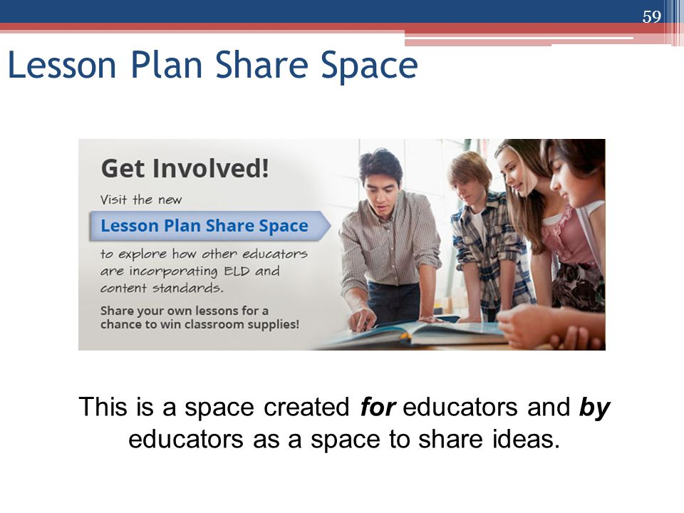 Lesson Plan Share Space This is a space created for educators and by educators as a space to share ideas.